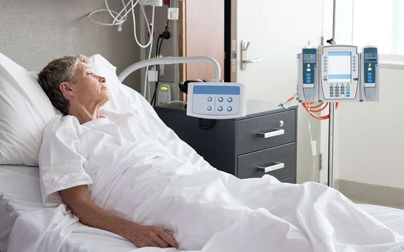 Patient in Hospital