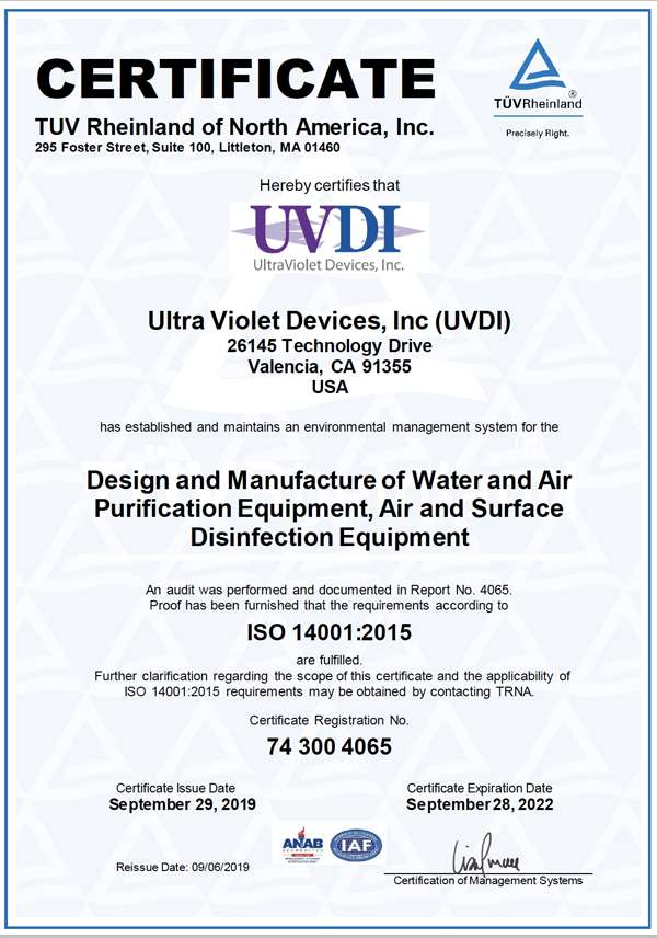 ISO Certificate 2019-2020