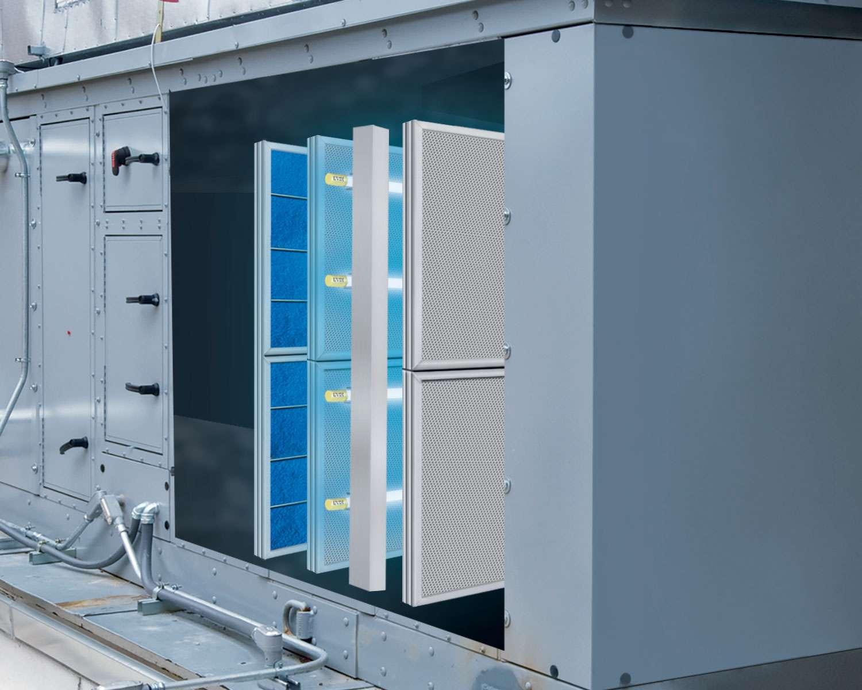 V-PAC System Inside an AHU