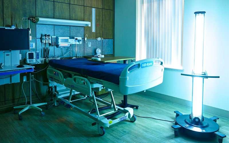 Optimum-UV in Patient Room